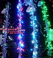 Wedding supplies christmas tree decoration string of lights 10 meters 80 headband end plug multicolour led lantern string light