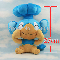 Best Selling 10.6 inch Japanese Cartoon Anime Pokemon Panpour Baby Animal Stuffed Plush Doll Child Toy For Gift Free Shipping