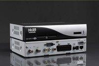 Free ship DM 500 S silvery color CA+Internet STB receiver sd dvb satellite receiver