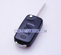 Hyundai Elantra 2 Buttons Remote Folding Key Shell