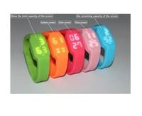 New Black chargable LED wristband usb 2.0 memory flash stick pen thumbdrive 4-32GB