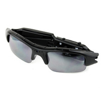High quality fashion portable outdoor travel hiking sun glass glasses sunglasses 2MP mini video camera DVR