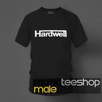 Hot-selling 2014 100% cotton o-neck short-sleeve T-shirt house dj hardwell