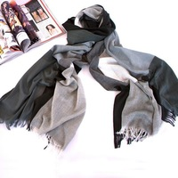 2014 free shipping Elegant large lattice national wind restoring ancient ways large shawl scarf shading  wholesale personality