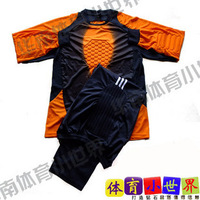 Lungmoon uniforms goalkeeper jersey goalkeeper jersey uniforms orange o-neck