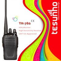 TESUNHO TH-780 ultra compact design durable professional handheld uhf interphone