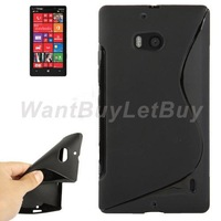 Durable S-Line Design TPU Gel Case for Nokia Lumia 929 Free Shipping