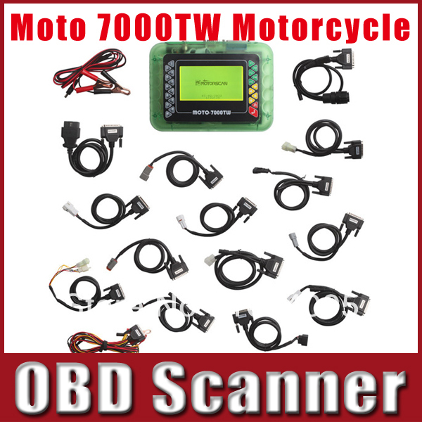 Universal Motorcycle Scan Tool MOTO 7000TW MOTO-7000TW Diagnostic Scanner Tool For Yamaha For BMW Motorcycle(China (Mainland))