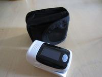 blue color  2014 Finer Pulse Oximeter 4 Colors OLED 4 Display Modes Waveform Spo2 Pr Monitor Oxgyen **low price +carrier/ case