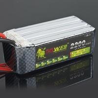 Lion remote control model aircraft lion 22.2v 2200mah 25c lithium battery 6s shaft