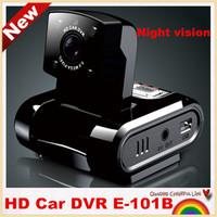 Free shipping!E-101B  Novatek Mini Car DVR recorder HD 1980*1080P car camera 120 degree Wide Angle night vision,G-sensor