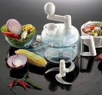 Multifunctional vegetable and fruit slicer shredder blenders baby food processor blender