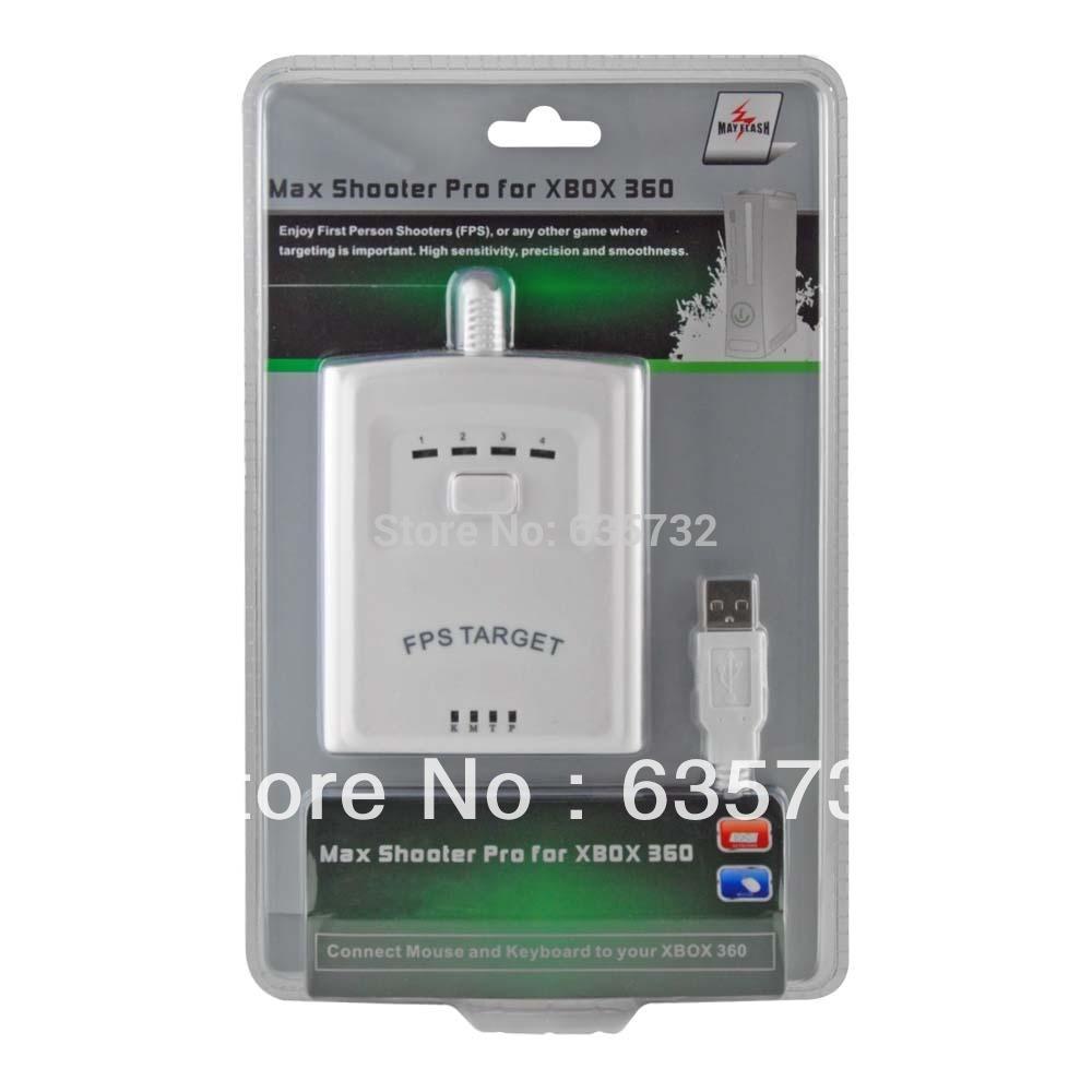MayFlash Max Shooter Pro FPS USB Mouse Keyboard Adapter for XBox 360 Slim(Hong Kong)