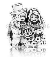 925 стерлингового серебра девочка и мальчик Бусины для европейских Шарм Браслеты x 030