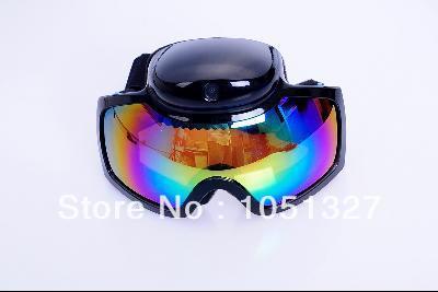 HD 720p Ski Sport glasses video camera Goggles Sunglasses DVR cam(China (Mainland))
