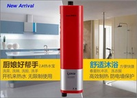 Электрический водонагреватель Multifunctional electric instant/tankless water heater 3000w, kitchen and bathroom use, mini water heater