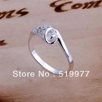 JR165 promotion lowest price Wholesale 925 sterling silver ring jewelry,2014 hot charm fashion jewelry, fashion ring