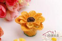 Sunflower Simple Style Resin Cabinet Cupboard Drawer Knob Door Pulls Handle MBS040-7