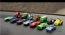 14pcs/lot Top Quality PVC Cool Racing car size 5-6cm Pixar Car Serials Figures Full Set for Child Gift,plastic PVC Mini car Toys(China (Mainland))