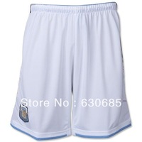 New arrival 2014 Argentina national team home white shorts Soccer Shorts,best quality Football Shorts Embroidery Logo