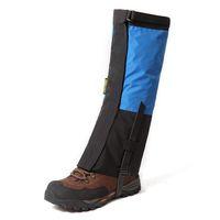 1pair Professional Waterproof Gaiters Legging Outdoor Hiking Walking Climbing Trekking Snow Boots Shoes Gaiters Legging 270250