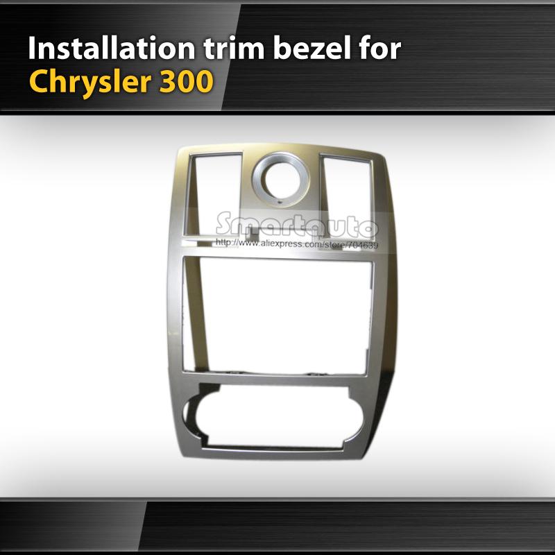 Refitting Frame For Mopar Chrysler 300 Double Din