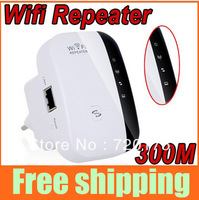 Upgraded Wireless-N Wifi Repeater 802.11N/G/B Network Router Range Expander Signal Booster 300Mbps Outdoors 300m Indoor 100m