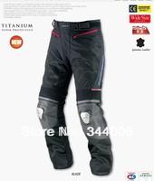 New KOMINE PK712 leather racing titanium mesh pants riding pants summer pants