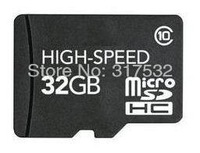 Free shipping Real full capacity memory cards  micro sd 32gb with Class 10 high speed write 16M/s and read 20M/s