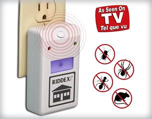 Anti insetos Riddex Pest Repeller assassino Aid controle Ant mosquito repelindo além disso eletrônico(China (Mainland))