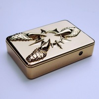 Metal personalized usb lighter electronic lighter cigar lighter charge lighter windproof 07