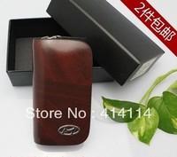 Auto for Hyundai hy key wallet cover shell keyrings key holder key bag case keychain genuine leather car accessories