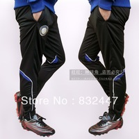 Inter milan  Man Athletic Sports Pants Men Soccer Football Sports Trousers Leg Elastic Sportwear Gym Jog Training Pants