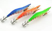 Available !! Free shipping!10pcs/lot SHRIMP fishing lure spoon fishing hook Squid Jigs tiexzhidaobei 4.0#