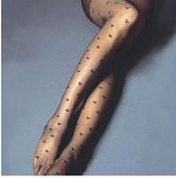 Big c w505 exquisite peach heart of love sexy all-match meat female pantyhose stockings