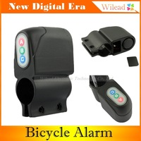 Bicycle Security Alarm TE-168 Weatherproof 110db Anti-Theft Audible Sound Lock Alert Bike Alarm AD0048
