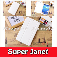 Freeship 10 Pc/lot Flip PU Leather Book Cover Smart Case With Sleep-Wake For Samsung Galaxy Tab 3 8.0 T310 T311 Multi-Color