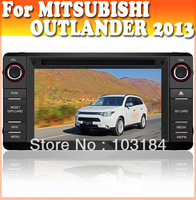 Car audio radio car dvd gps player for MITSUBISHI OUTLANDER 2013 with bluetooth gps navigation