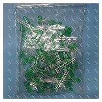 100pcs/lot 5MM LED  Green Light  Electronic component semitting diode