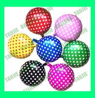 100 pcs/Lot Free shipping New arrive Polka Dot Balloon,7 colors foil decoration balloons