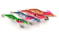 Available !! Free shipping!10pcs/lot SHRIMP fishing lure spoon fishing hook Squid Jigs fugangmutou 4.0 #