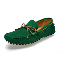 2014 NEW arrive brand casual man boat shoes loafers flats genuine leather sneakers for men size:36 to 46