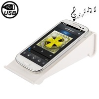 New Arrival White Portable Wireless Speaker for Samsung Galaxy i9300 i9100 i9500 Galaxy Note III N9000