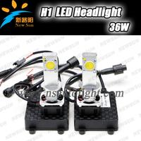 36W Korea seoul chips H1 LED 360-Degree Shine, 2014 growing market New H1 Led Head Light, LED Car Headlamp Auto lighting system