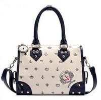 2013 Hot new Luxury Lady boston Women Designers tote Pattern Hobo Handbag Tote Bag Horizontal Version Free Shipping