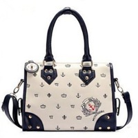 2013 Hot new Luxury Lady boston Women Designers tote Pattern Hobo Handbag Tote Bag Horizontal Version Free Shipping