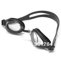 Free shipping  children designer swim goggles  New Silver Fashion Non-Fogging Swimming Goggles Adjust Anti UV Swim Glasses