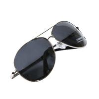 Silver male fashion polarized sunglasses rack large sunglasses glasses fishing