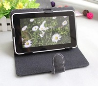 Universal Adjustable 7inch A13 Q88 Case for Tablet PC MID for Galaxy Tab for Sony Tab Stand Leather Protective Cover