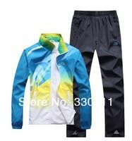Spring new casual sportswear suit lapel men's sports suit men's sportswear for men and women couple models